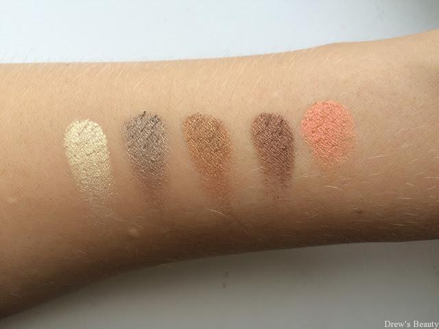 e-style gold dreams swatch paletka
