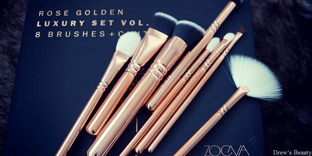 RECENZIA: ZOEVA Rose Golden Luxury set vol.3