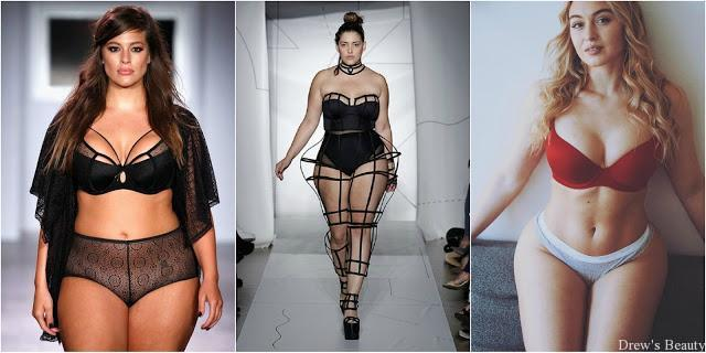 ashley graham denise bidot iskra lawrence plus size modelky