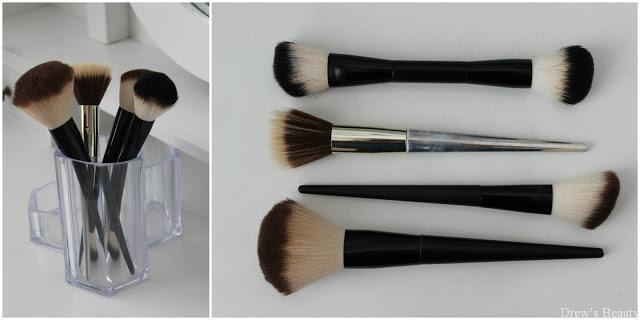 avon štetec makeup púder stippling brush
