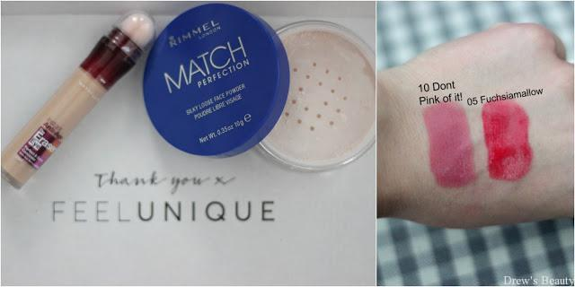 feelunique rimmel match perfection
