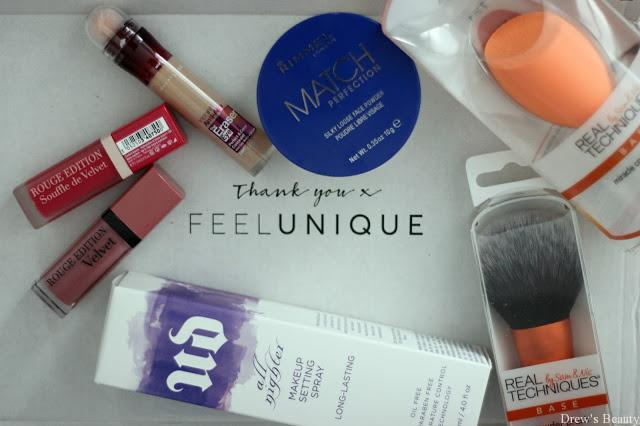 feelunique real techniques urban decay bourjois