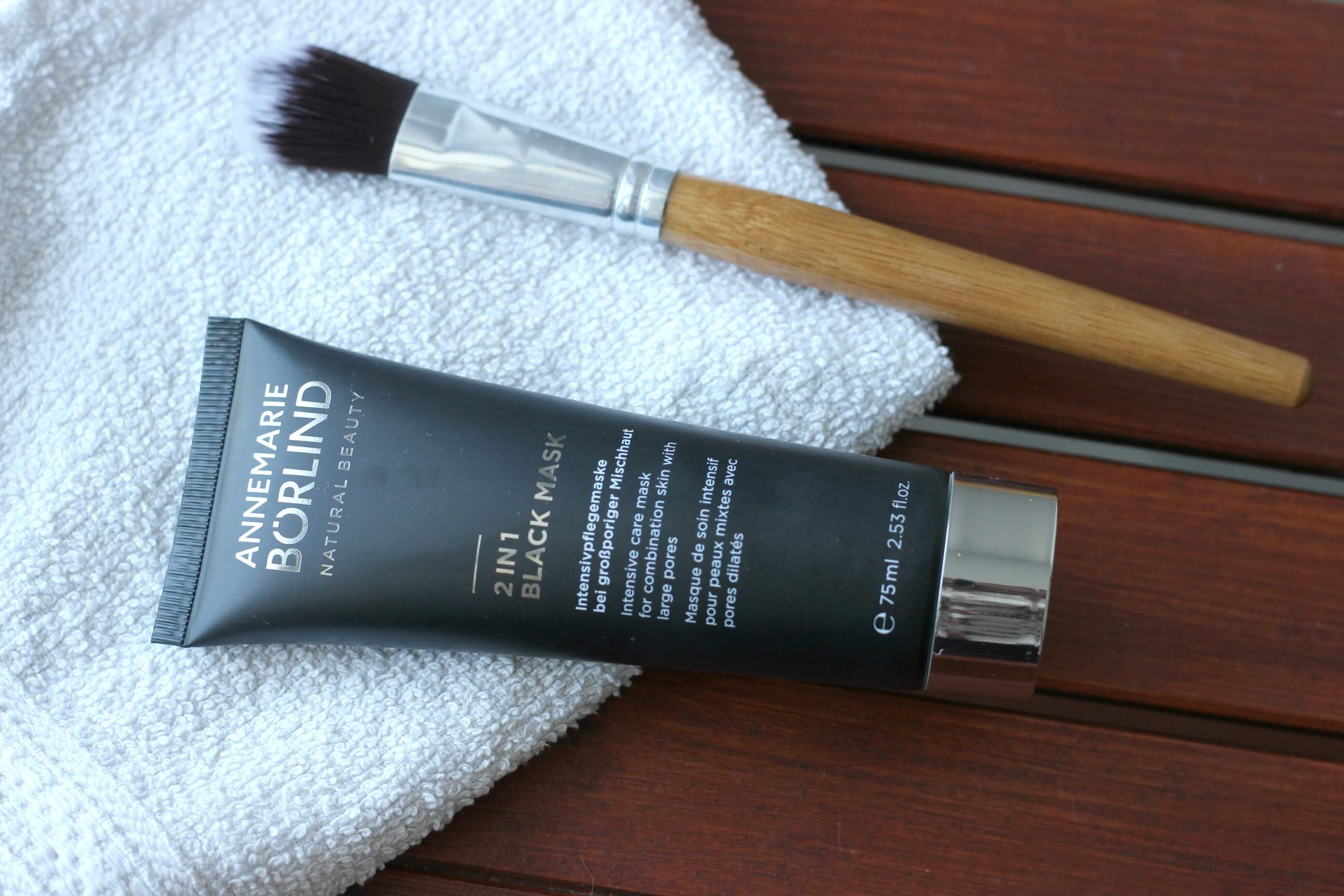 RECENZIA: Annemarie Borlind 2in1 Black mask