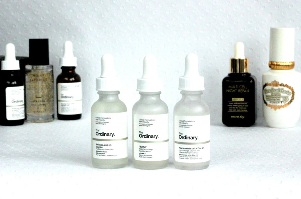 serum starostlivost o plet the ordinary buffet