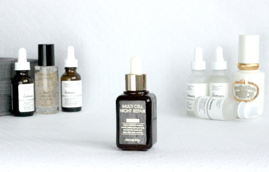 serum starostlivost o plet the ordinary korejska kozmetika kosmetika secret key multi cell night repair
