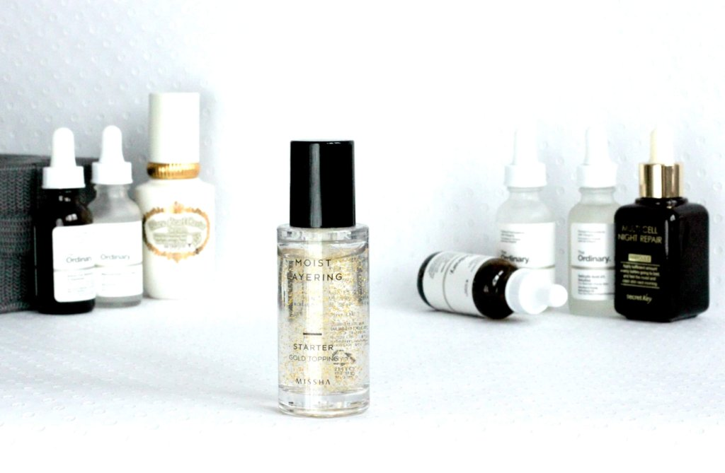 serum starostlivost o plet the ordinary korejska kozmetika kosmetika missha moist layering